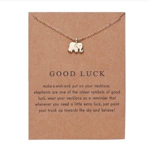 NEW!! 🐘 Good Luck Elephant Necklace